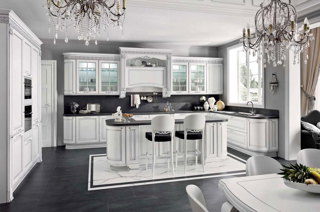 Dolcevita cucine classiche mobili sparaco for Mobili x cucine piccole