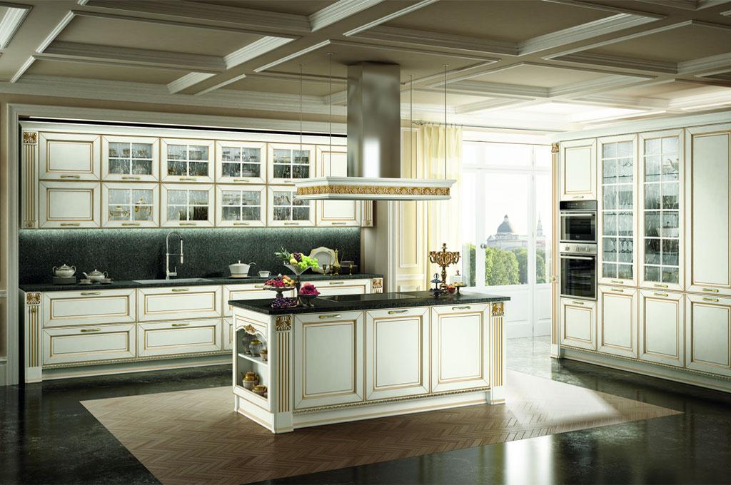 Dolcevita cucine classiche mobili sparaco - Cucina in inglese ...