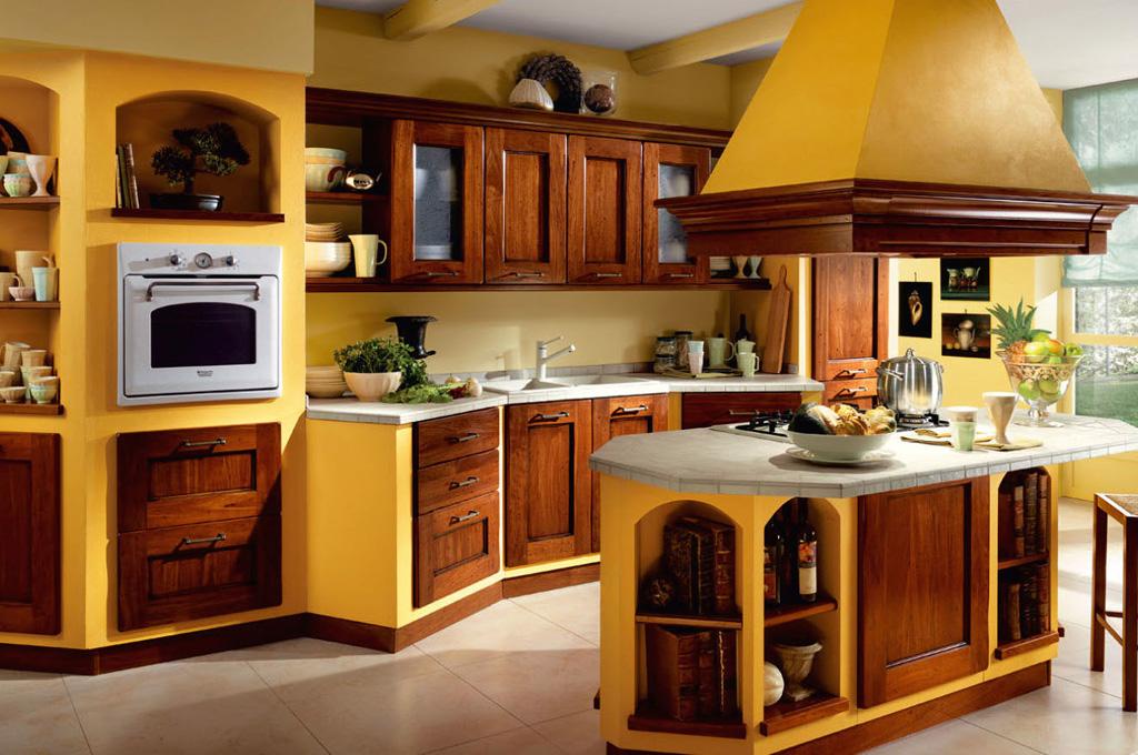 Focolare cucine classiche mobili sparaco - Cucine provenzali usate ...
