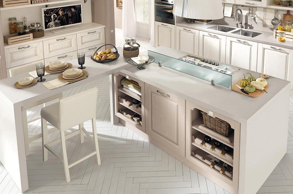 Laura cucine classiche mobili sparaco - Cucina classica contemporanea ...