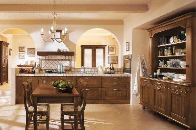 Cucine classiche mobili sparaco - Cucine in arte povera ...