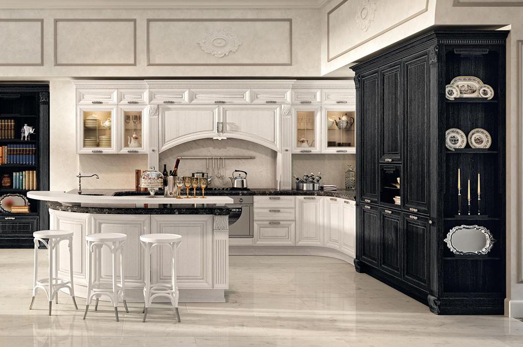 Foto cucine classiche legno cucina angolare classica iin - Cucine baron prezzi ...