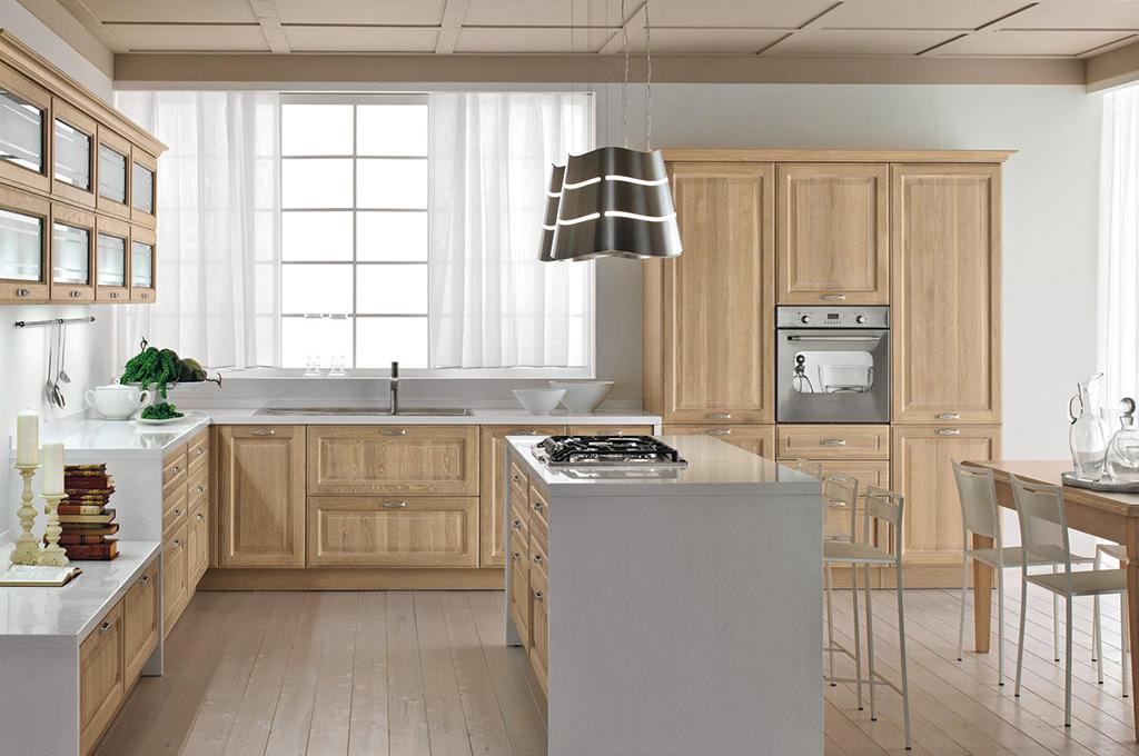 Silvia cucine classiche mobili sparaco - Cucina classica contemporanea ...