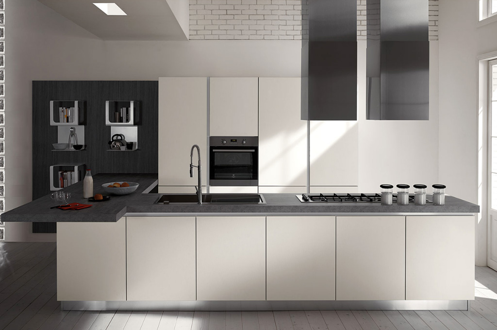 Stratos cucine moderne mobili sparaco for Immagini moderne