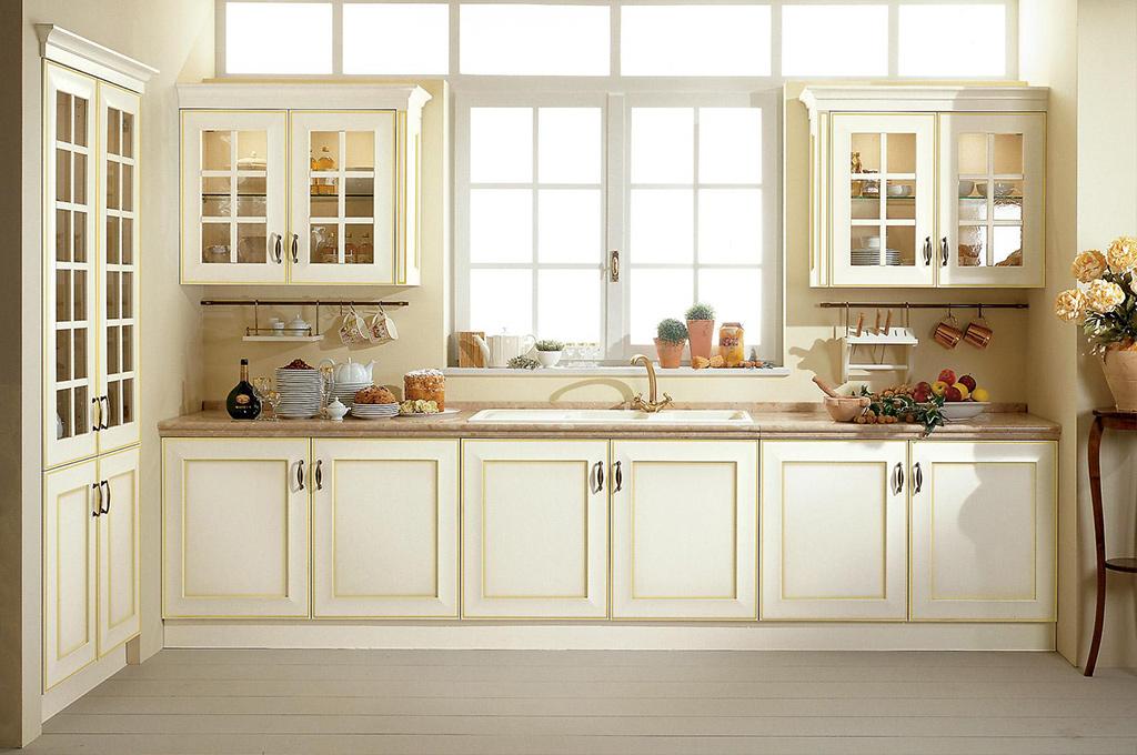 Velia cucine classiche mobili sparaco - Cucine artigianali in legno massello ...