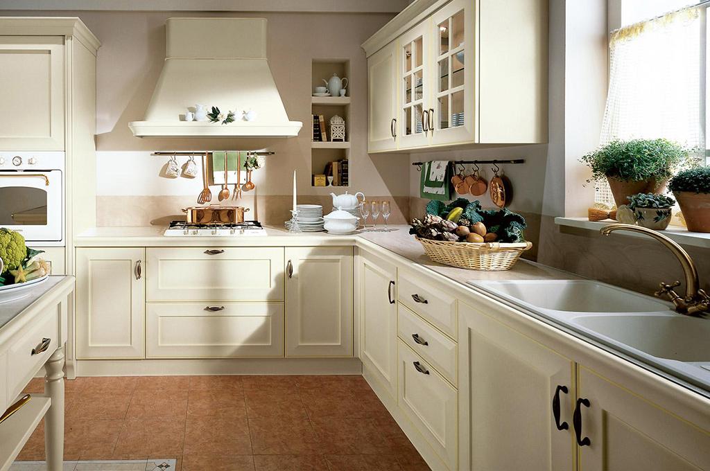 Velia cucine classiche mobili sparaco - Cucina classica contemporanea ...