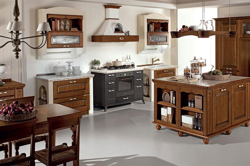 Veronica cucine classiche mobili sparaco for Cucine classiche