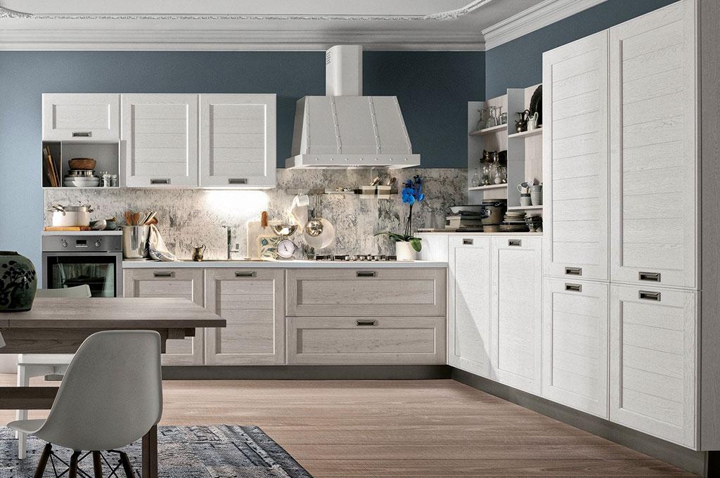 Mobili Contemporanei Cucina : I colori della natura interpretati da gd arredamenti ambiente cucina