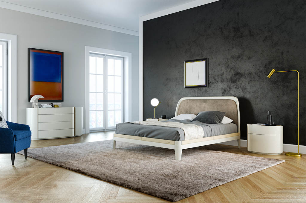Jacqueline camere da letto moderne mobili sparaco for Camere da letto zanette