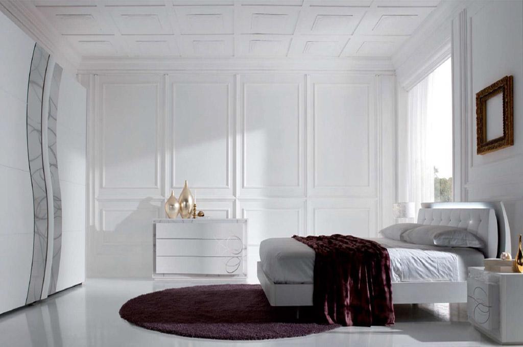 Atlante camere da letto moderne mobili sparaco for Mensole moderne camera da letto