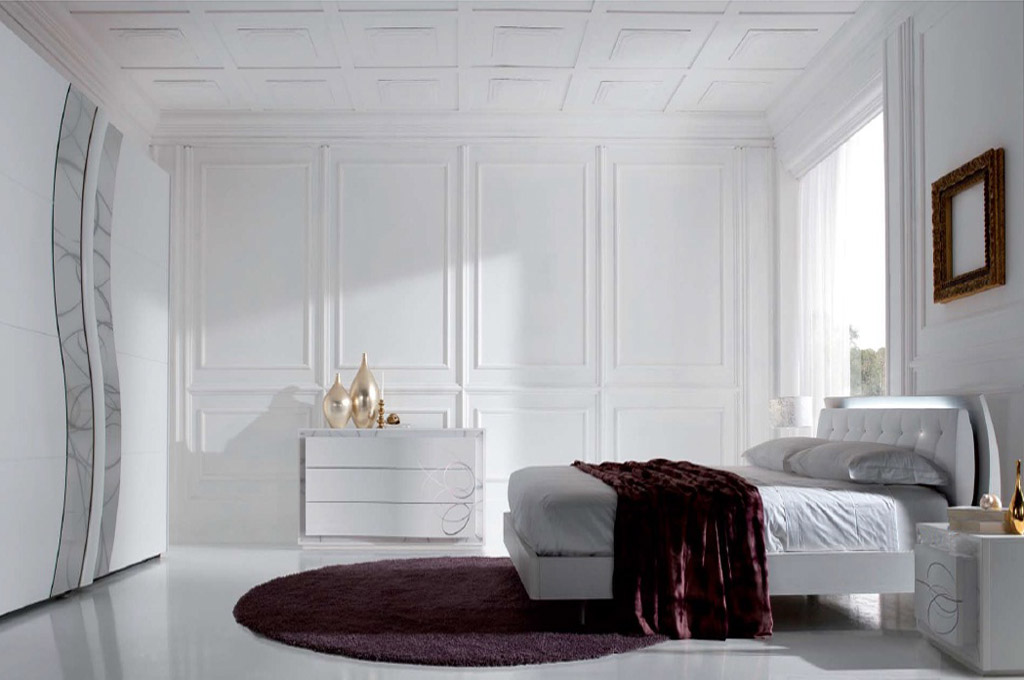 Atlante camere da letto moderne mobili sparaco for Camere da letto moderne offerte