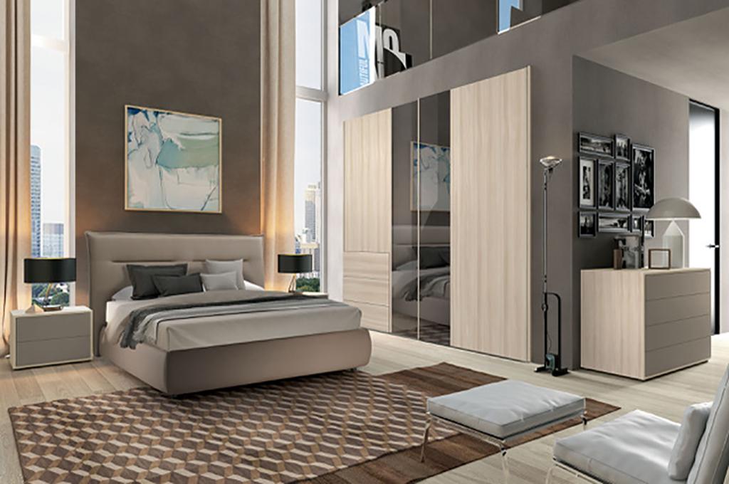 Giro camere da letto moderne mobili sparaco for Camera da letto matrimoniale completa