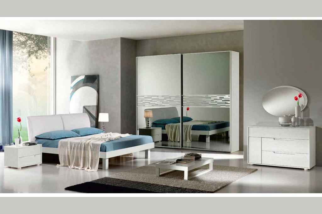 Miluna trend camere da letto moderne mobili sparaco for Camere da letto moderne marche