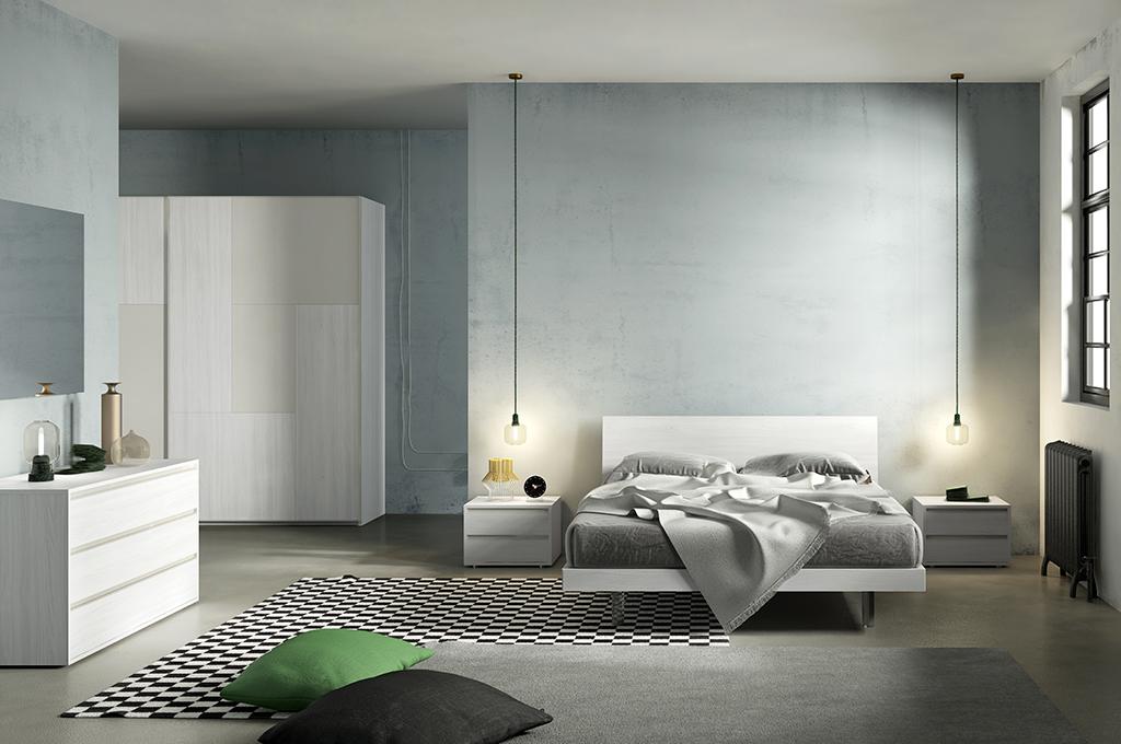Filo combi camere da letto moderne mobili sparaco - Camere da letto moderne milano ...
