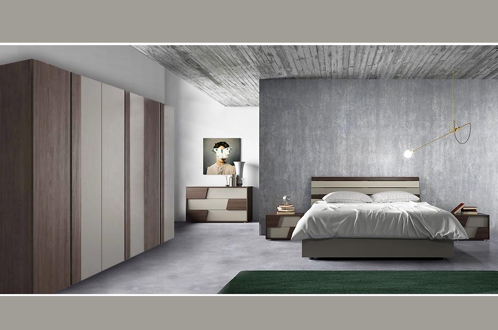Gliss camere da letto moderne mobili sparaco for Camere da letto zanette