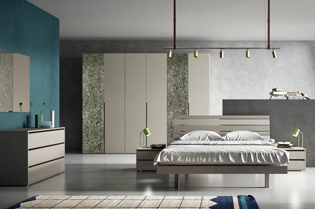Filo camere da letto moderne mobili sparaco for Mensole moderne camera da letto