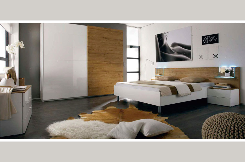 Camere da letto moderne Tambura smart