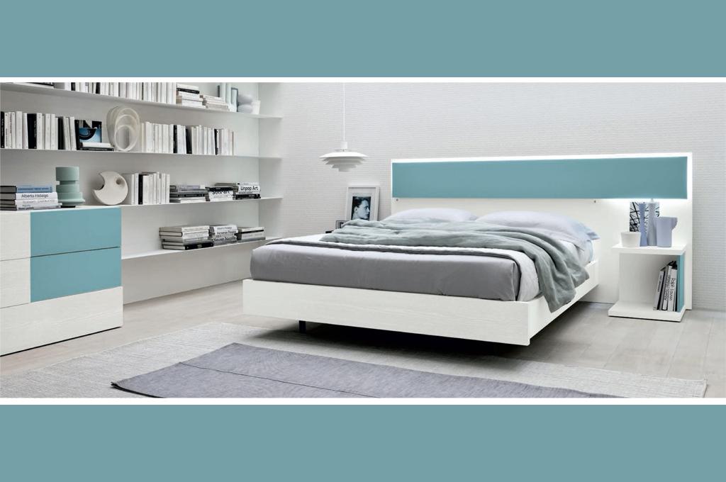 Tecno camere da letto moderne mobili sparaco for Camere da letto moderne offerte
