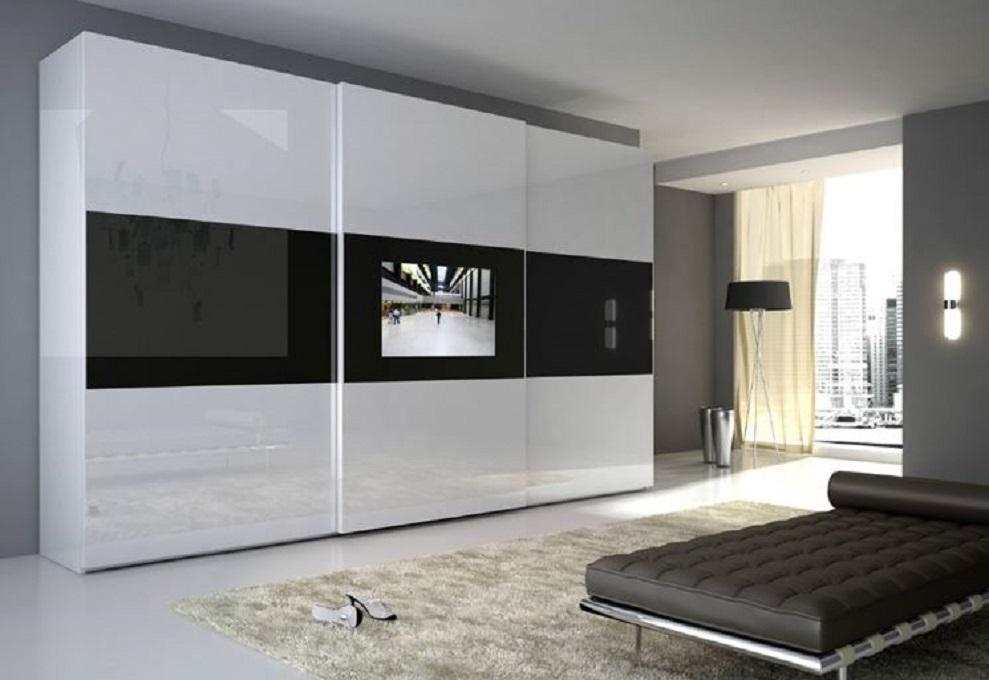 Armadio Porta Tv Camera Da Letto.Anta Led Camere Da Letto Moderne Mobili Sparaco