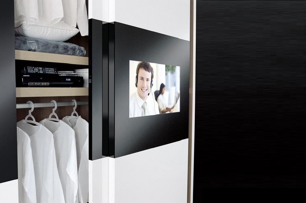 Armadio Scorrevole Porta Tv Mindland : Anta led camere da letto moderne mobili sparaco