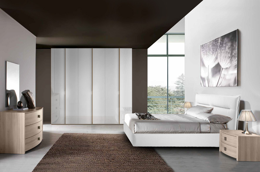 Arco camere da letto moderne mobili sparaco for Camere da letto moderne marche