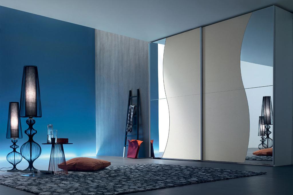 City camere da letto moderne mobili sparaco - Specchi moderni per camera da letto ...
