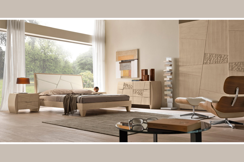 Camere da letto moderne ciliegio - Colori pareti camera da letto moderna ...