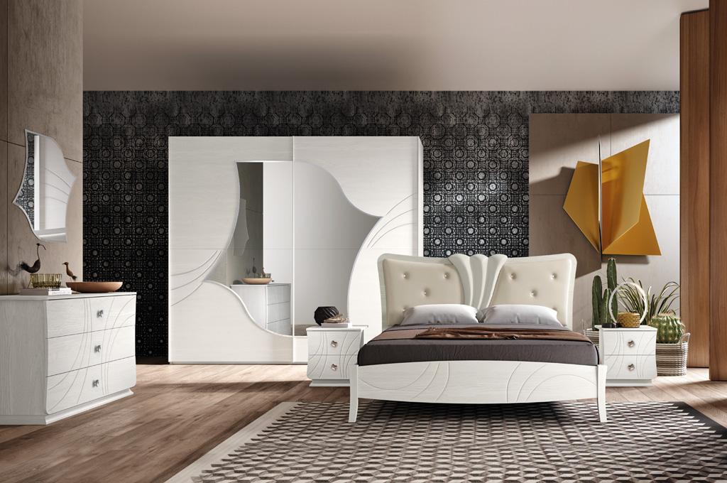 Fiocco camere da letto moderne mobili sparaco - Camere da letto complete offerte ...
