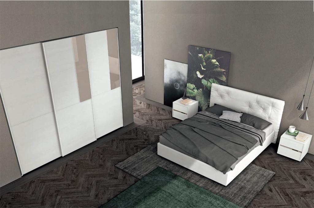Galaxy camere da letto moderne mobili sparaco for Camere da letto moderne marche