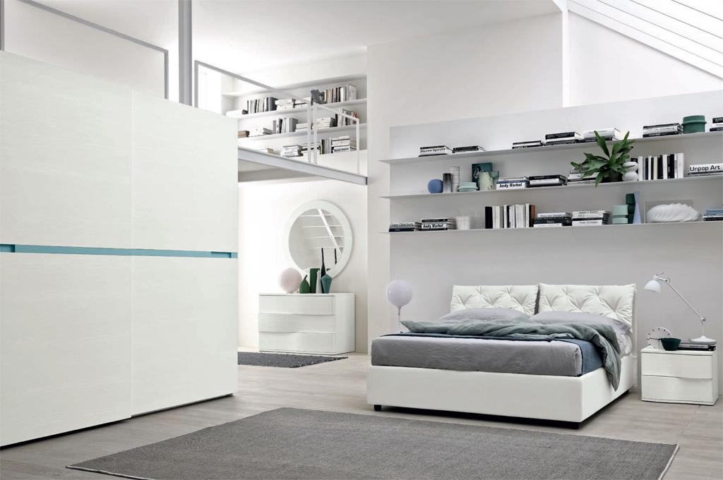 Gioia camere da letto moderne mobili sparaco for Camere da letto moderne scavolini