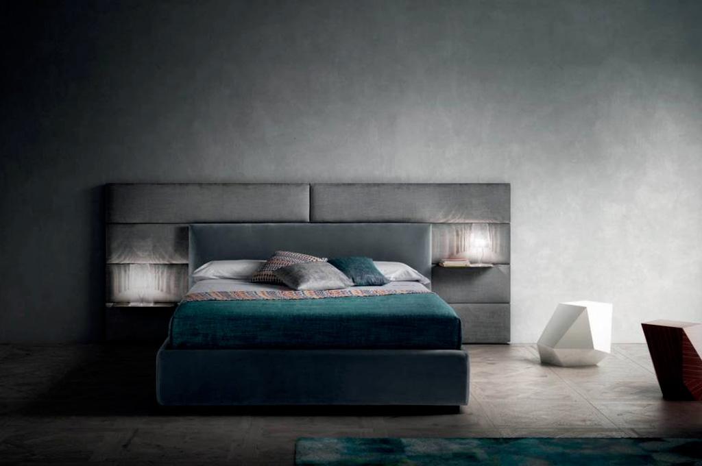Match camere da letto moderne mobili sparaco for Mensole moderne camera da letto