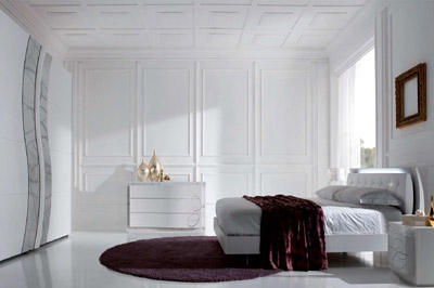 Mobili made in italy for Stanza letto moderna
