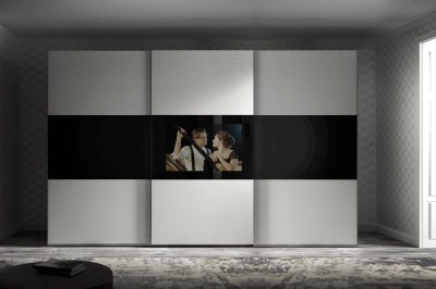 Camere da letto moderne Mirror TV