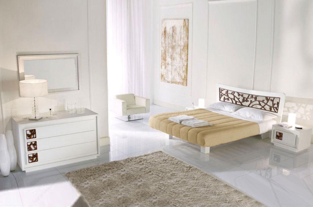 Mobili in legno massello cucine soggiorni e camere da letto - Camera da letto moderna contemporanea ...
