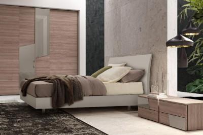 Techno camere da letto moderne mobili sparaco for Piani casa artigiano 2 camere da letto