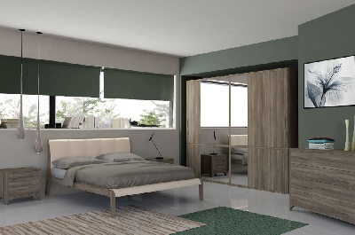 Madison camere da letto moderne mobili sparaco for Mobili per camera