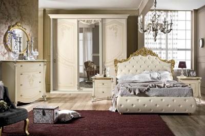 Camera Matrimoniale Classica Completa.Camere Da Letto Classiche Mobili Sparaco