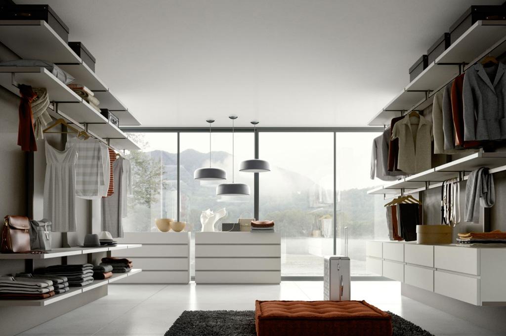 Naked camere da letto moderne mobili sparaco - Cabine armadio moderne ...