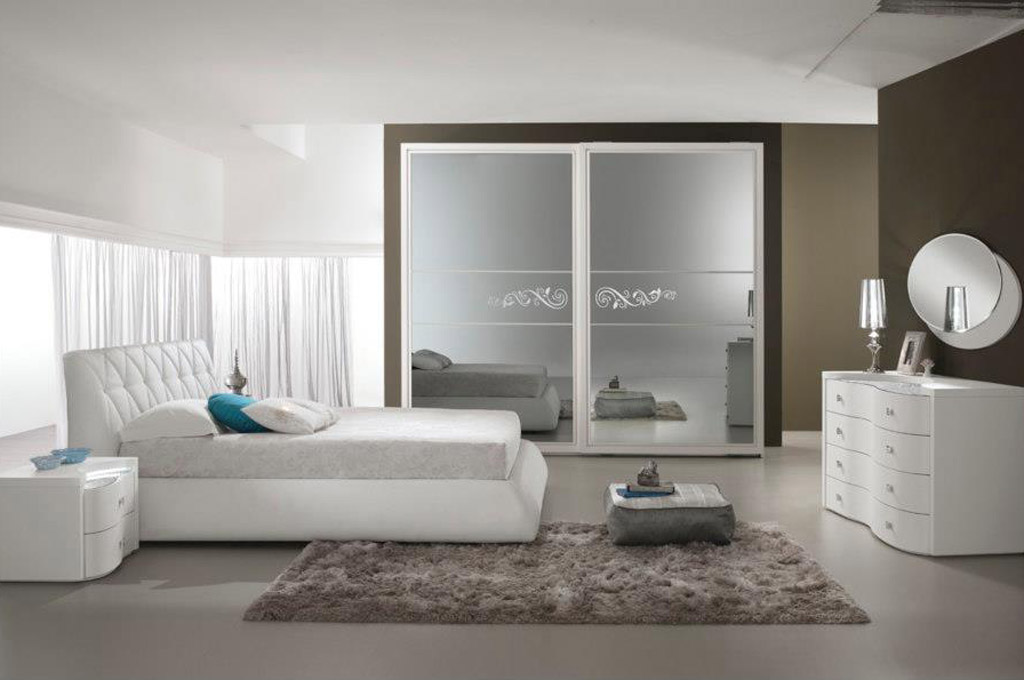 Prestige camere da letto moderne mobili sparaco for Mensole moderne camera da letto