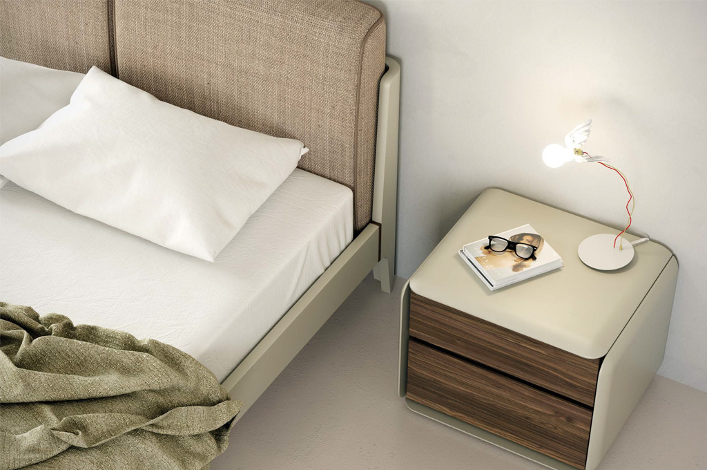 Scilla camere da letto moderne mobili sparaco - Fazzini mobili camere da letto ...