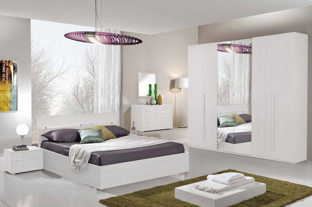 Teseo  Camere da letto moderne  Mobili Sparaco