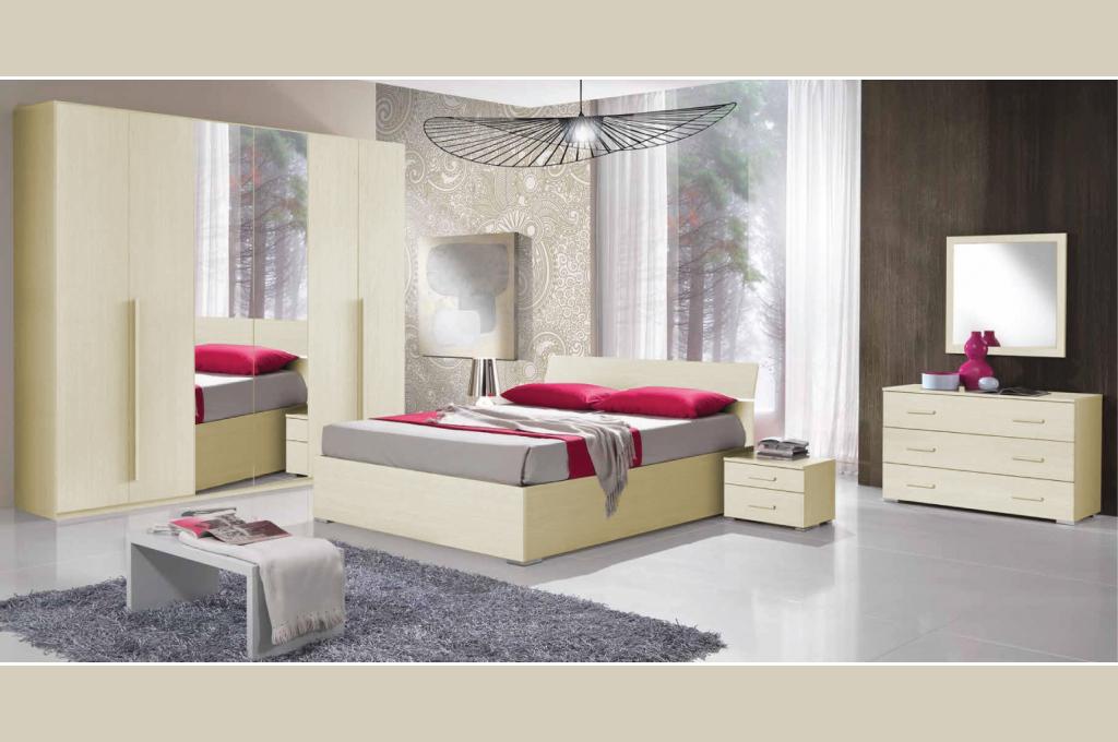 Teseo camere da letto moderne mobili sparaco - Camere da letto complete offerte ...