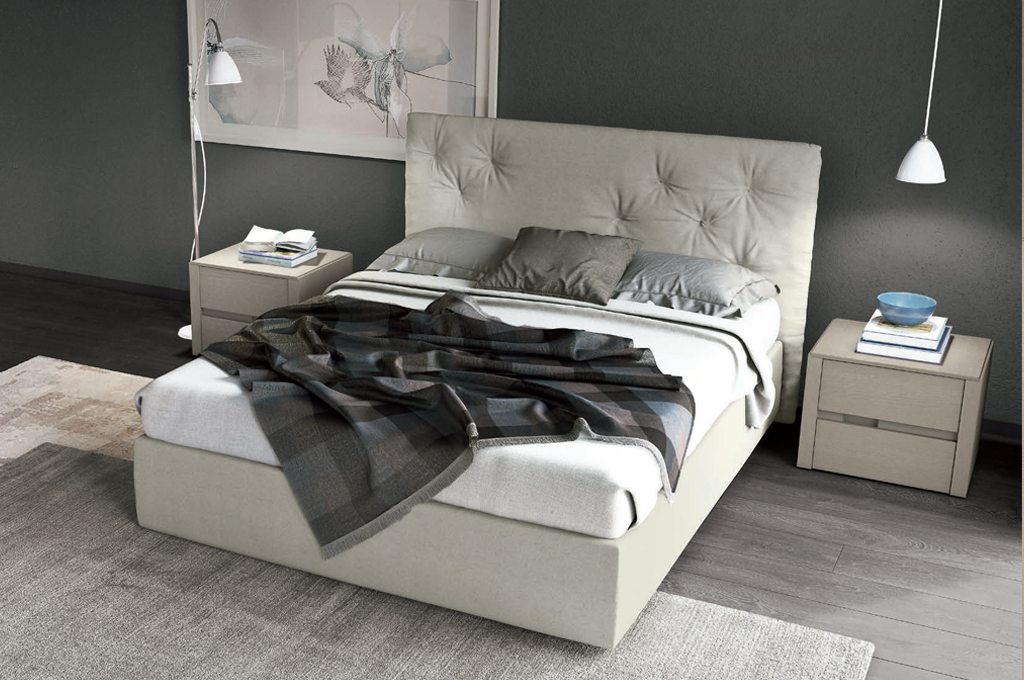 Trend camere da letto moderne mobili sparaco - Camera da letto frassino bianco ...
