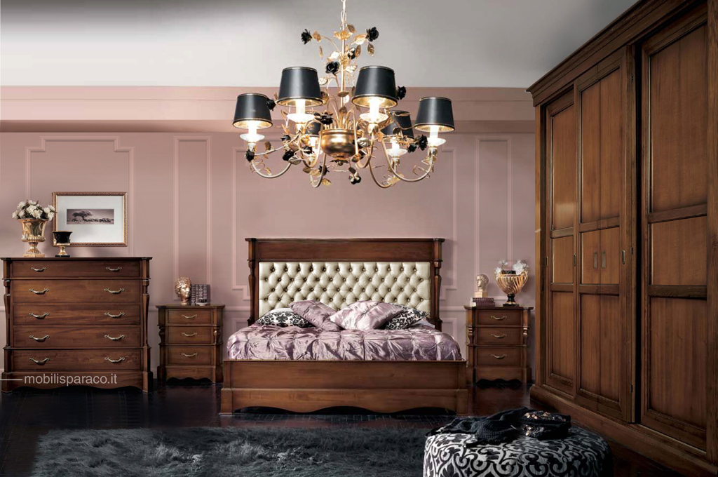 800 siciliano camere da letto classiche mobili sparaco - Mobili da letto ...