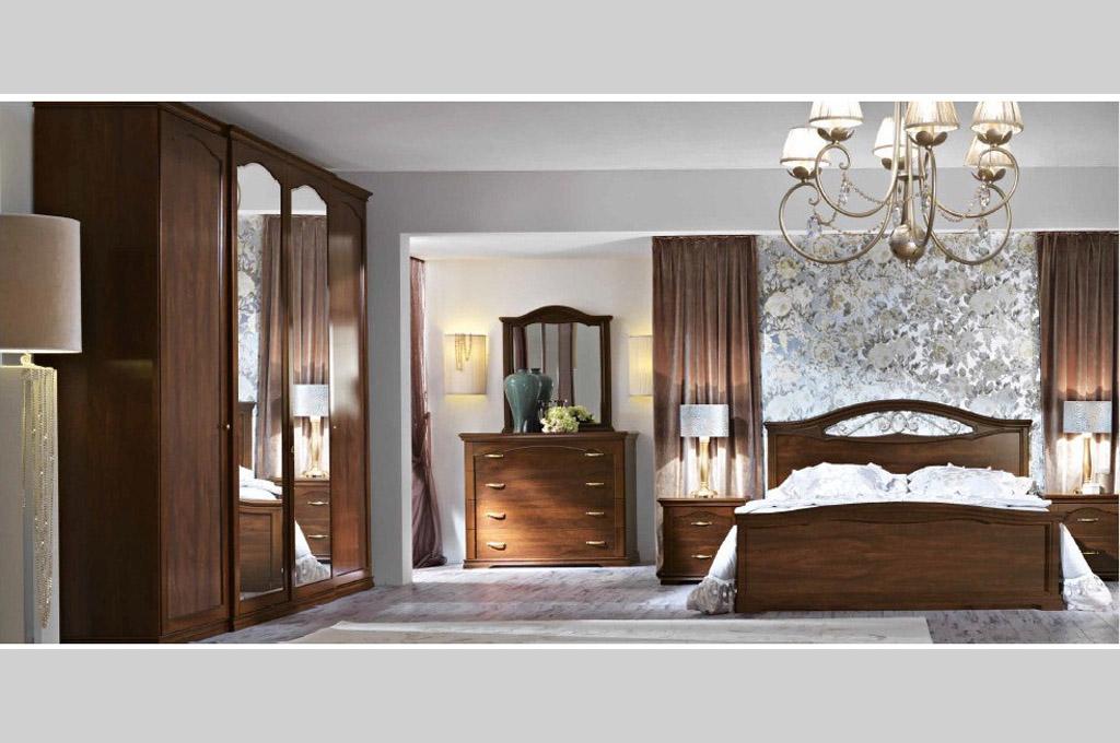 Cleope camere da letto classiche mobili sparaco for Aziende camere da letto