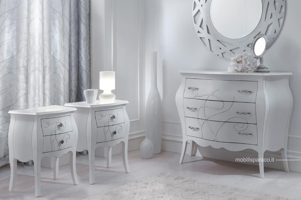 Camera Da Letto Bianco : Gemma camere da letto classiche mobili sparaco