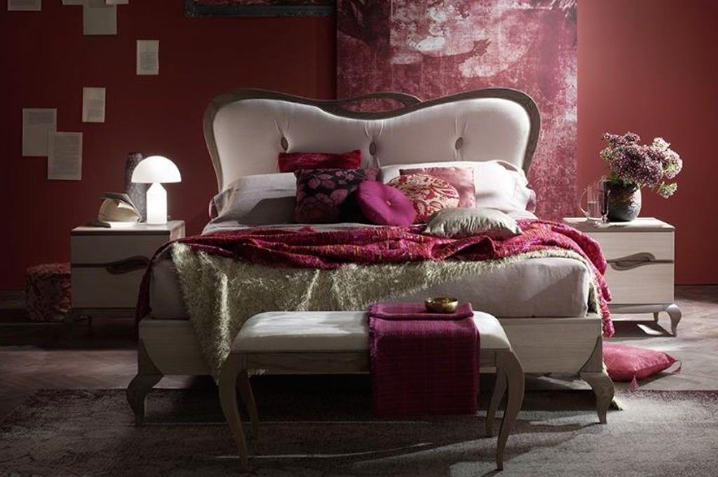 Tresor camere da letto classiche mobili sparaco - Stanza da letto contemporanea ...