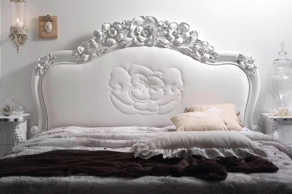 Letto Viola Cortezari : Viola camere da letto classiche mobili sparaco