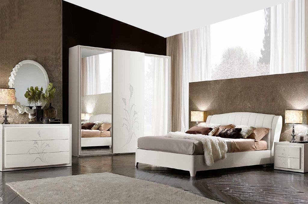 Callas camere da letto moderne mobili sparaco for Camere da letto moderne colore olmo