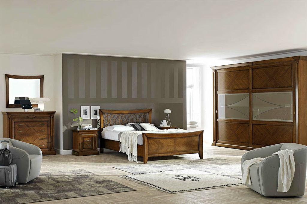 Rochelle camere da letto classiche mobili sparaco for Lube camere da letto